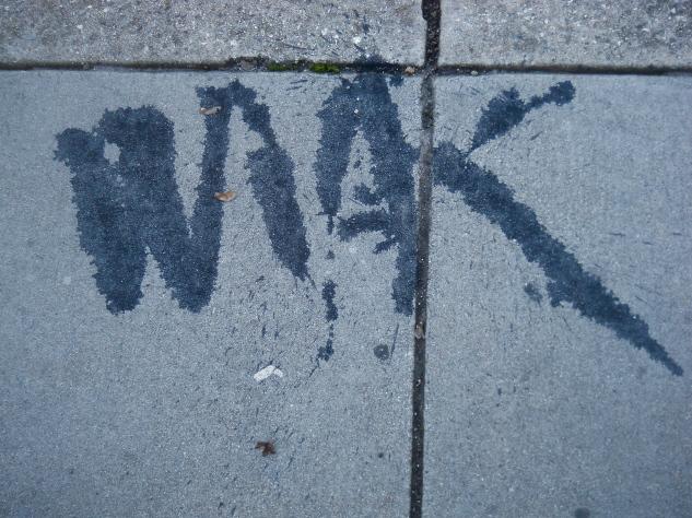 Enigmatic Sidewalk