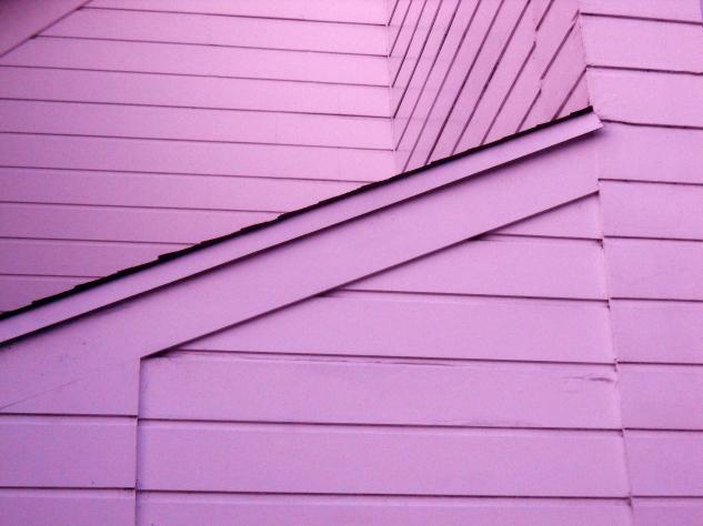 Lavender Siding