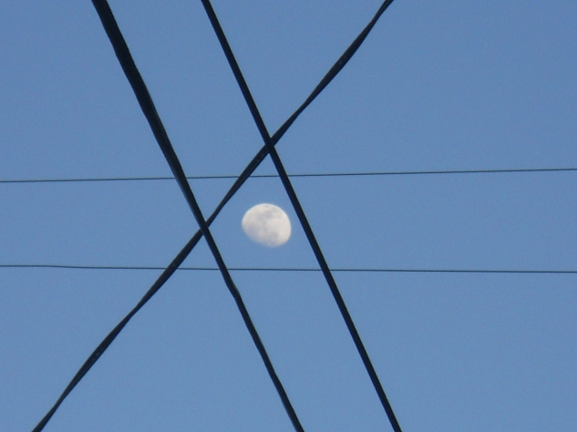 Moon in Crosshairs