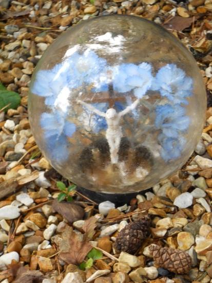 Jesus in a Globe