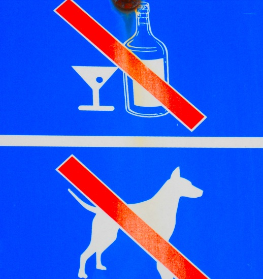 No Drunk Dogs Allowed