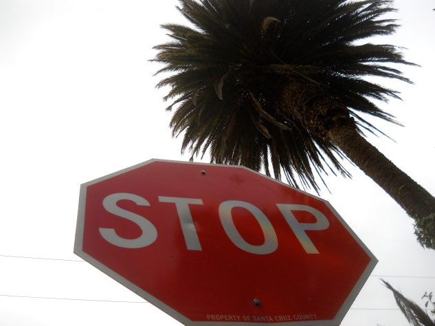 STOP! Palm.