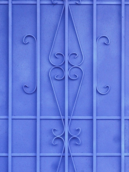 Blue Screen Door