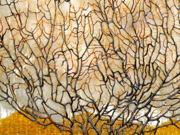 Detail, Seaweed Art