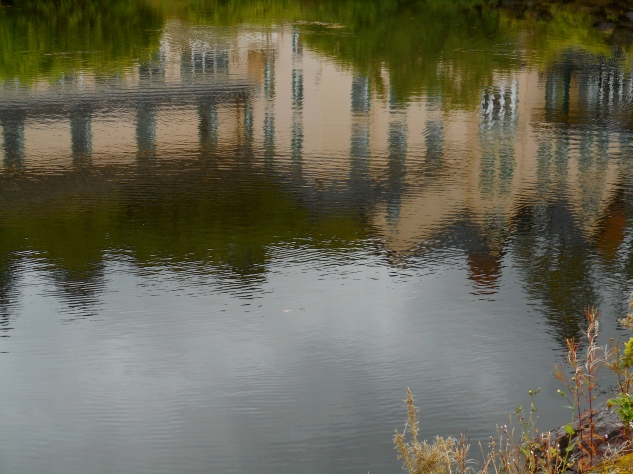Eccles, in Reflection Pond