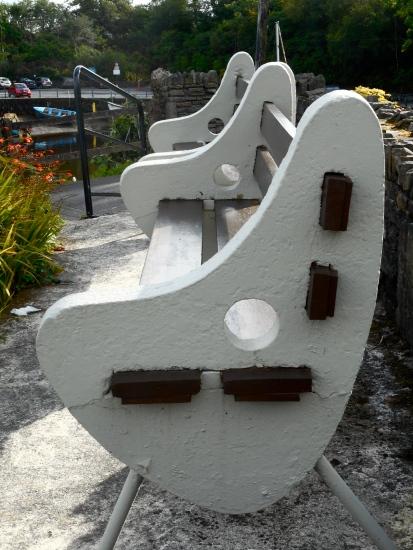 Op-Art Benches
