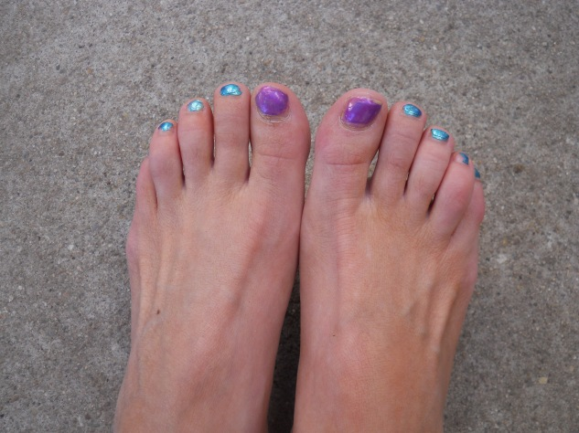 Mary's Toes