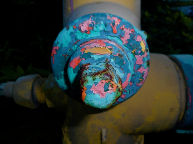 Psychedelic Hydrant